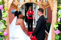Anthony Propst Jr. and Alecia Selmon Wedding